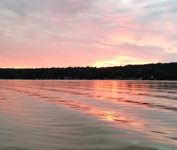 Comer See Sonnenuntergang