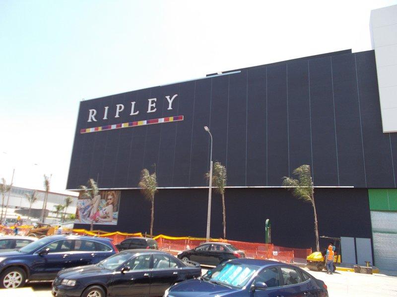 Depts loja. Centro Comercial La Rambla.