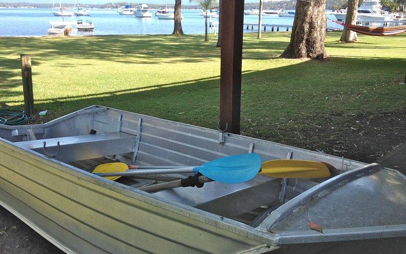 dinghy for you to use with kayaks and surf ski