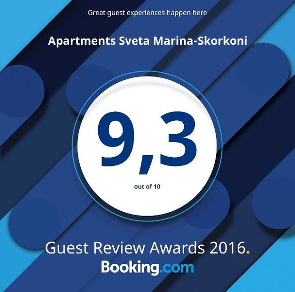 Booking Com Award for 2016