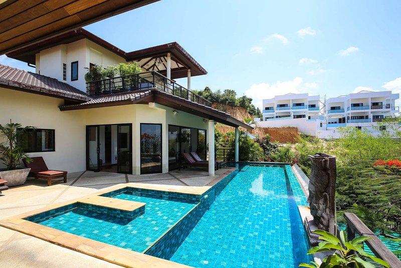 4 bedroomed seaview villa