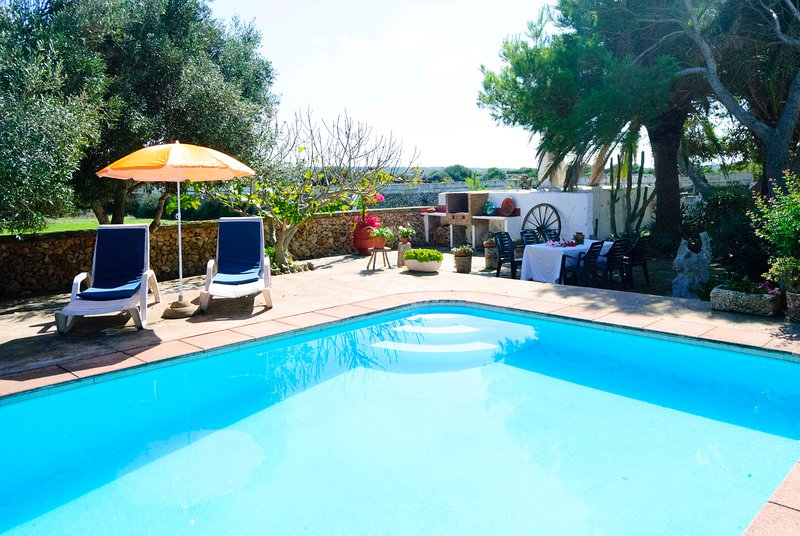 Casa de campo VINYA GRAN, vacation rental in Ciutadella