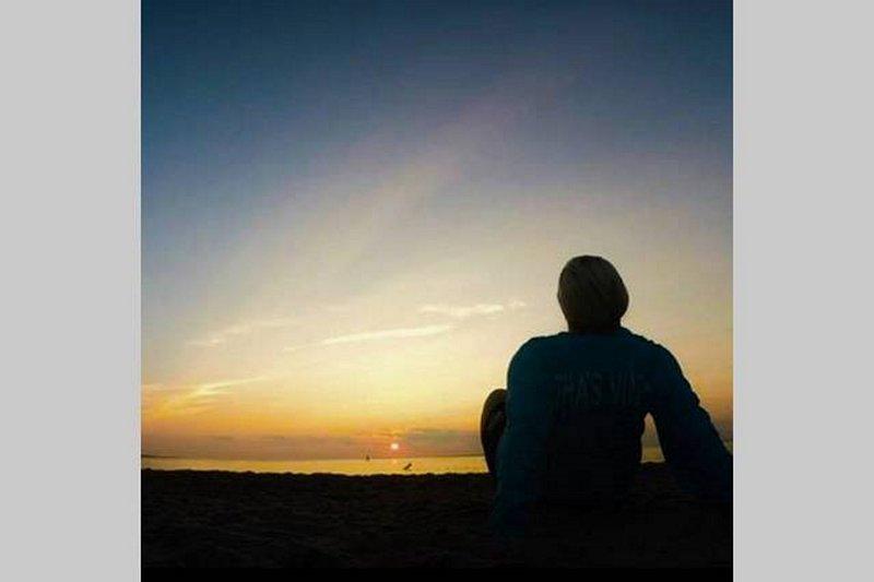 Menemsha do sol - outro grande dia chega ao fim.
