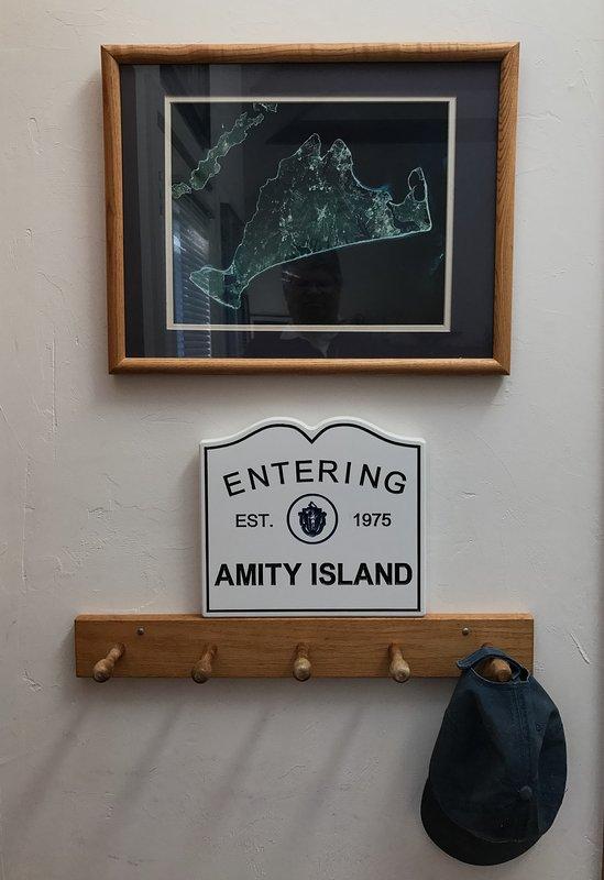 Bem-vindo ao Amity Island - a casa de Jaws.