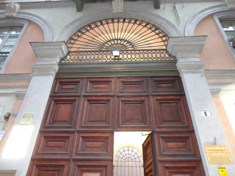 entrée principale porte