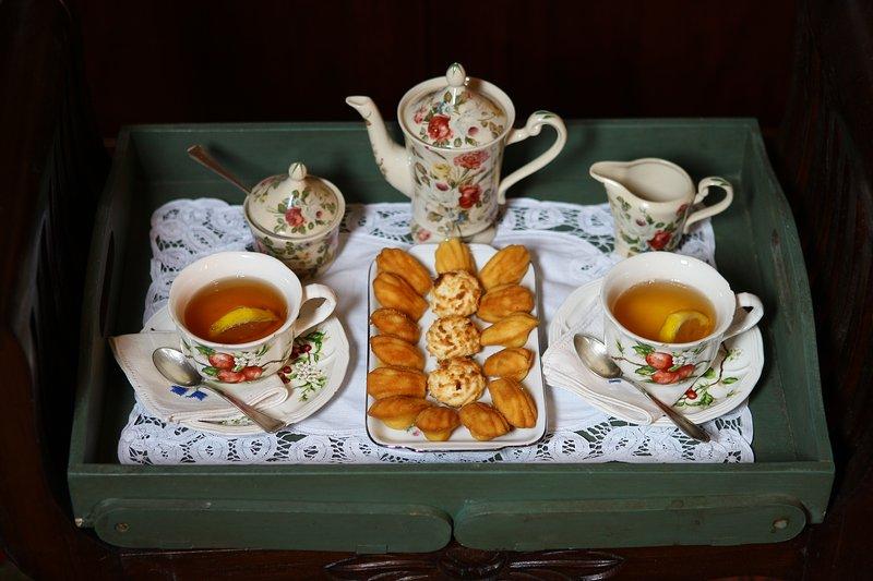 Tè e madeleines