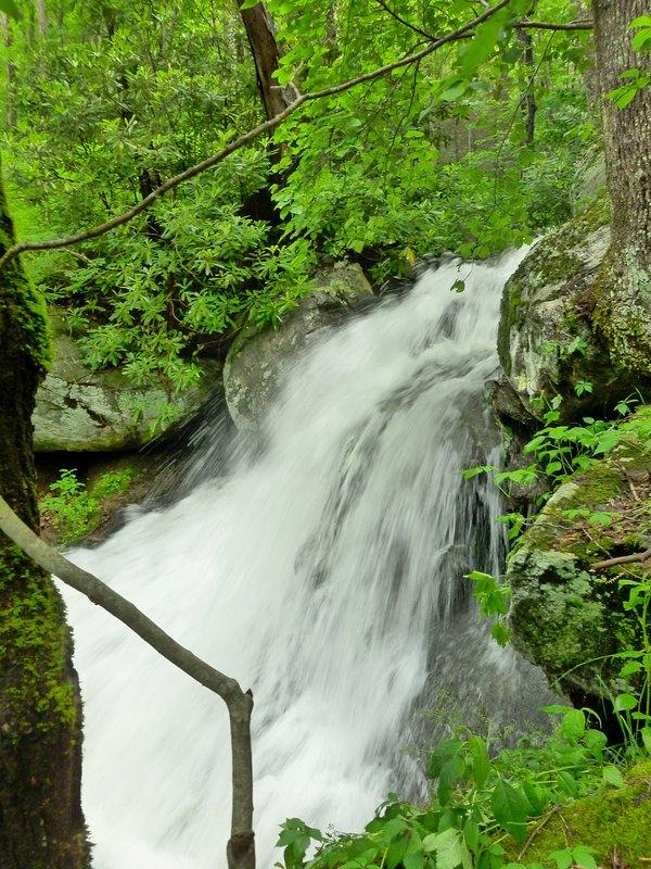 Uno dei nostri cascate dopo una grande pioggia