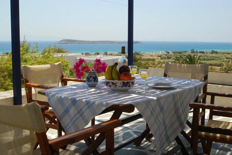 Golden Beach - Paros -Maison B1- Velanies Houses, vacation rental in Nea Chryssi Akti