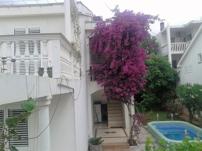 Villa with swemming pool in Budva Adriatic sea from 1 to 11 people, vacation rental in Budva