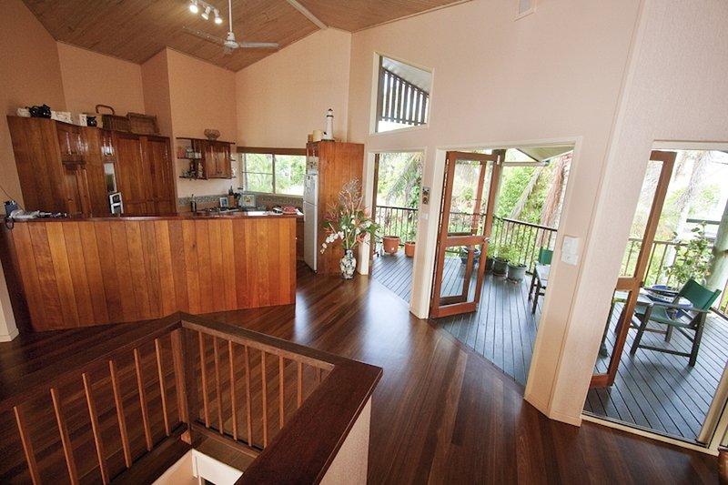 Luna Mission - Rear Verdandah - Great spot for morning coffee
