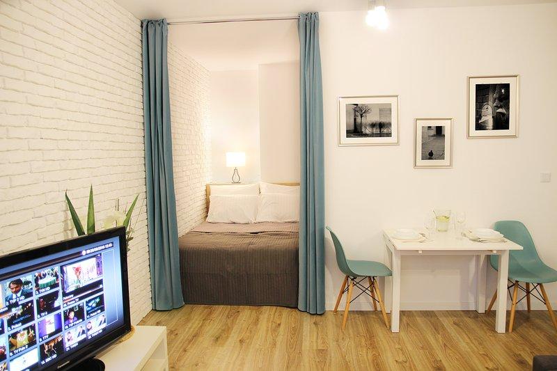 Luxury Studio - Turquoise, holiday rental in Wieliczka