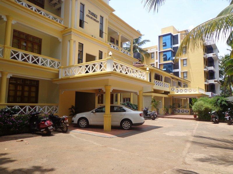 The Tubki Resort- Service Apartment, aluguéis de temporada em Canacona