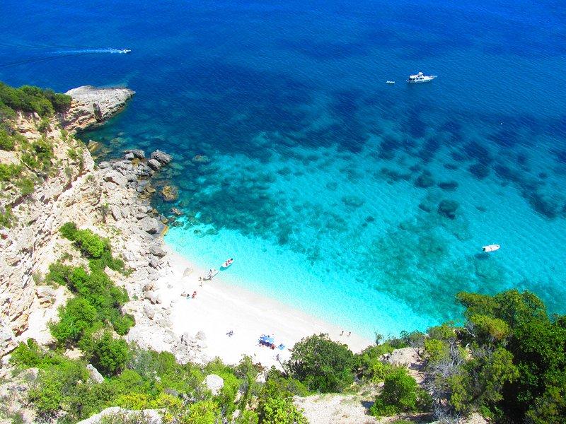 Cala mariolu first Italian beach for tripadvisor