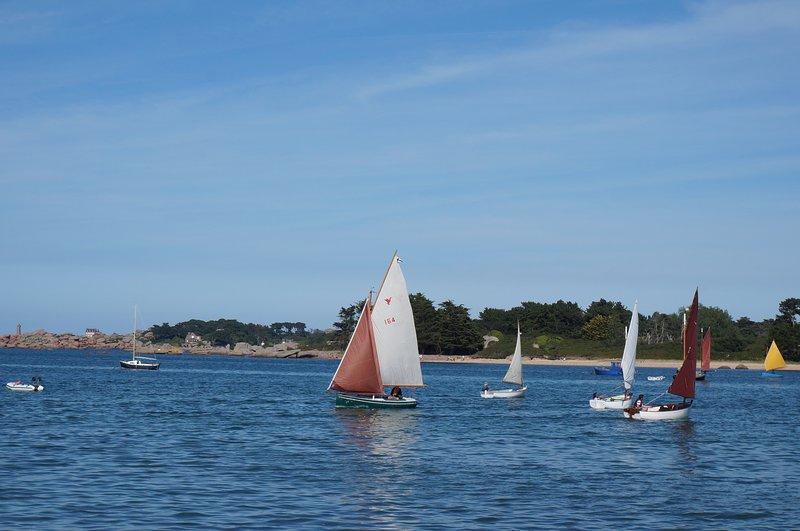 Sainte Anne cerca de la bahía