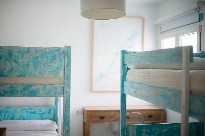 Chambre avec vue avec lits superposés