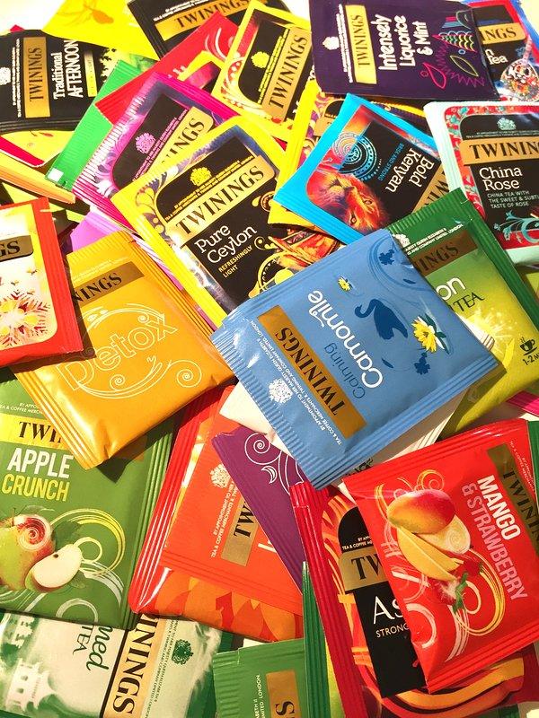 Nous avons toutes les saveurs de thé Jumelages sur l'offre