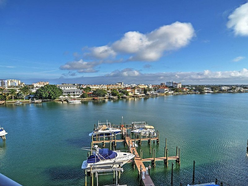 Panoramic Views Of The Harbor From Your 300 Square FT Balcony