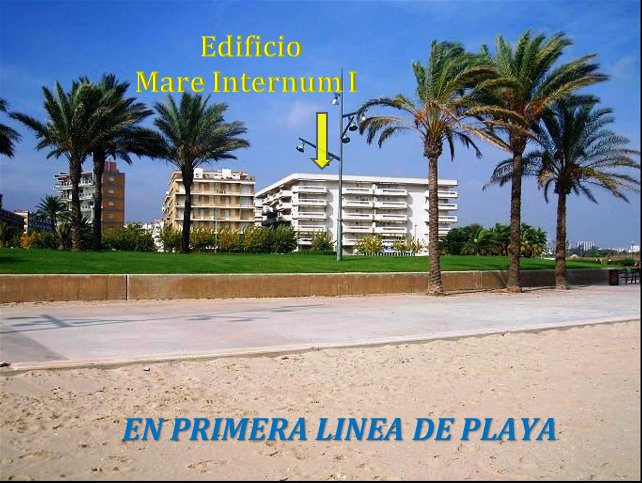 Photo Building from the beach. 1st line and next to a large park. Park Dels Prats.