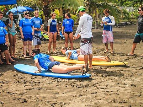 Surf Lessons - Plage de Jaco