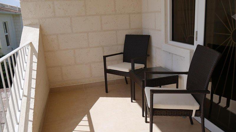 Master bedroom patio area.