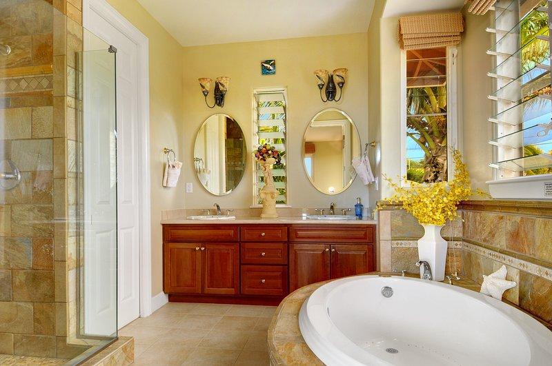 1ère salle de bain avec jacuzzi