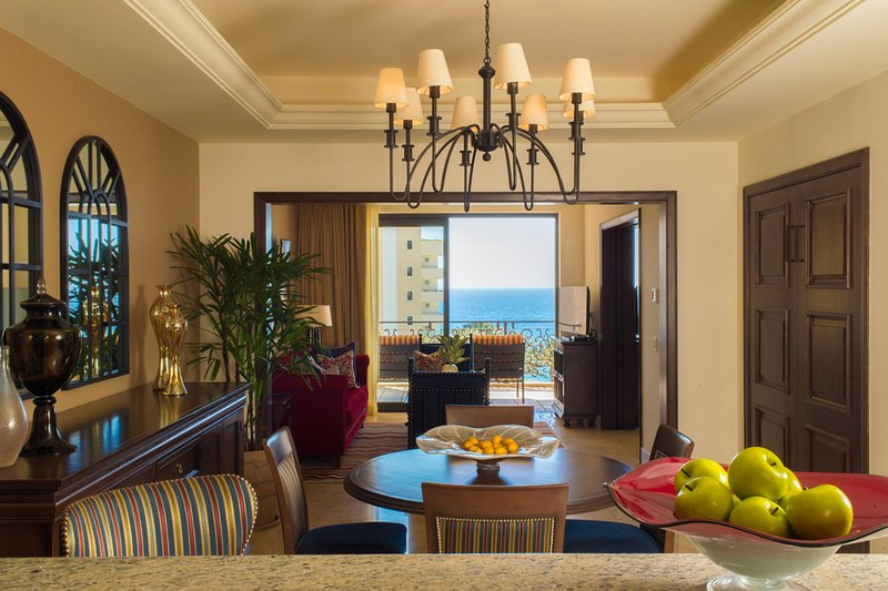 Main living area with beautiful ocean view