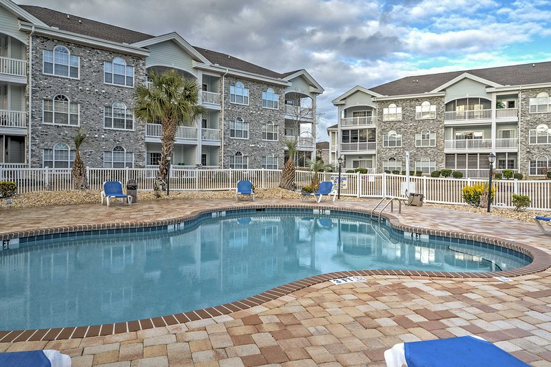 Book this lovely vacation rental condo in Myrtle Beach!