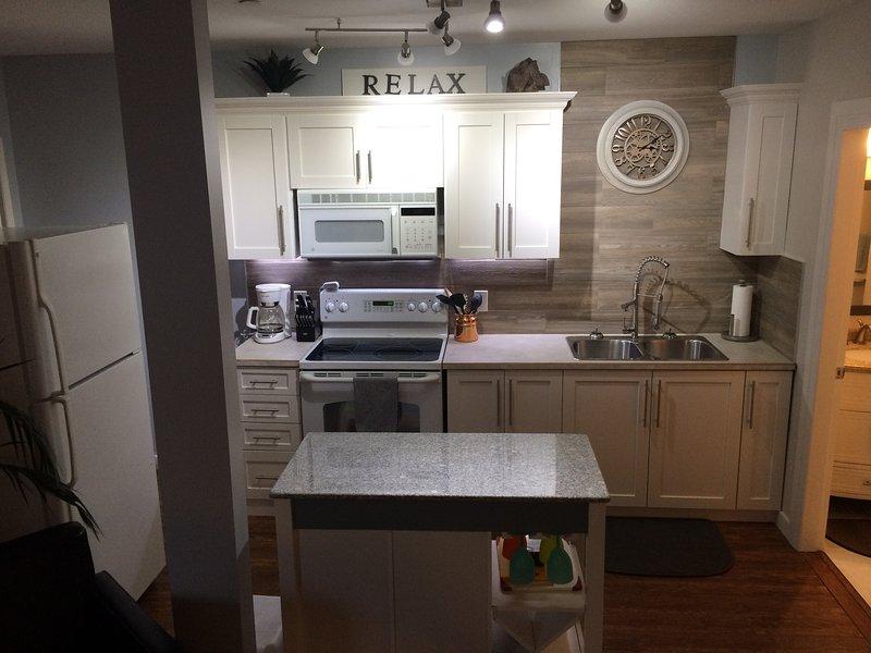 Recientemente renovado cocina