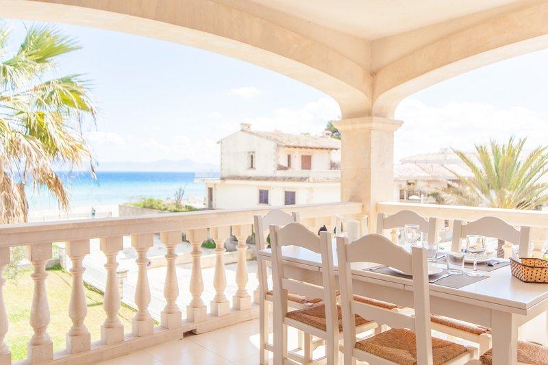 SUN OF THE BAY VIDALBA 3 (B2 - A3) - Apartment for 6 people in Port d'Alcudia, casa vacanza a Playa de Muro
