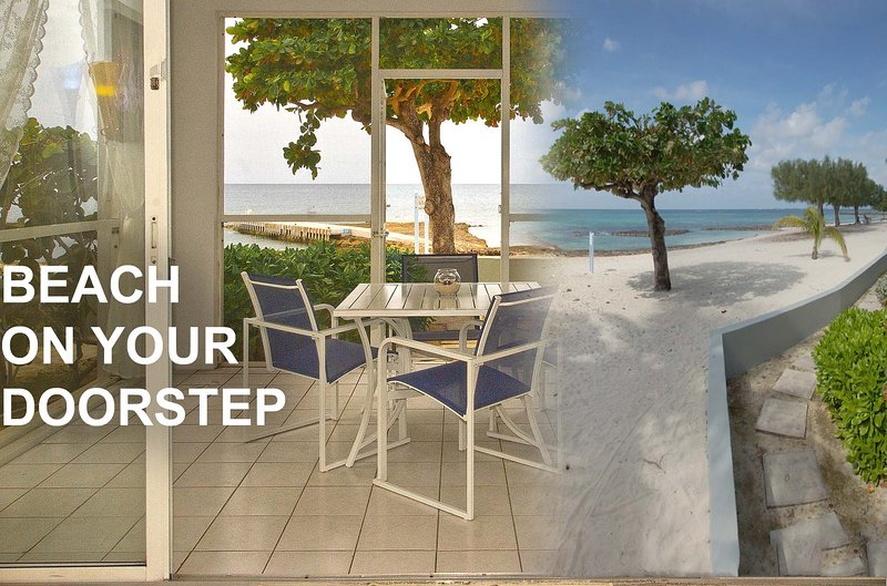 Beach on your doorstep, literally 3 steps