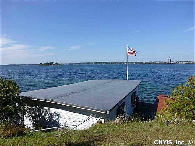Private boathouse