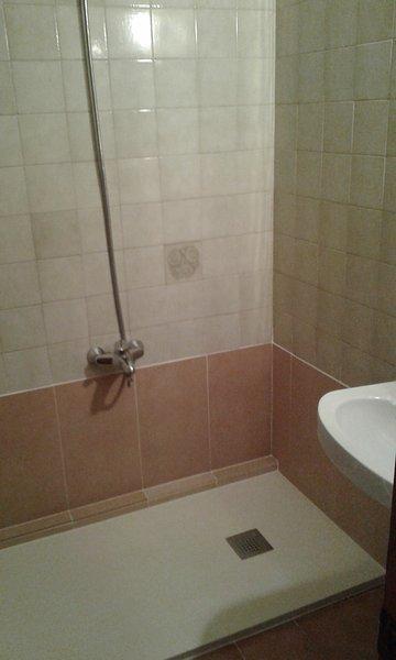 Nuevo baño mampara cristal