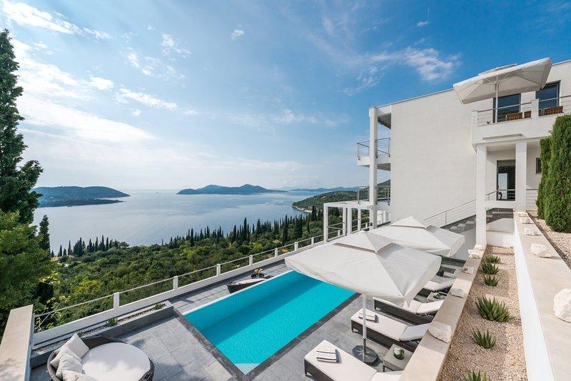 El sueño de lujo Villa Dubrovnik con piscina, cerca de Dubrovnik