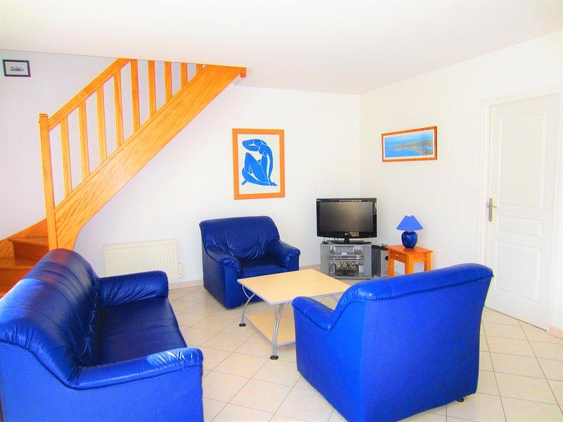 Maison Aurigny pour 8 personnes à 80m de la plage, holiday rental in St Helier