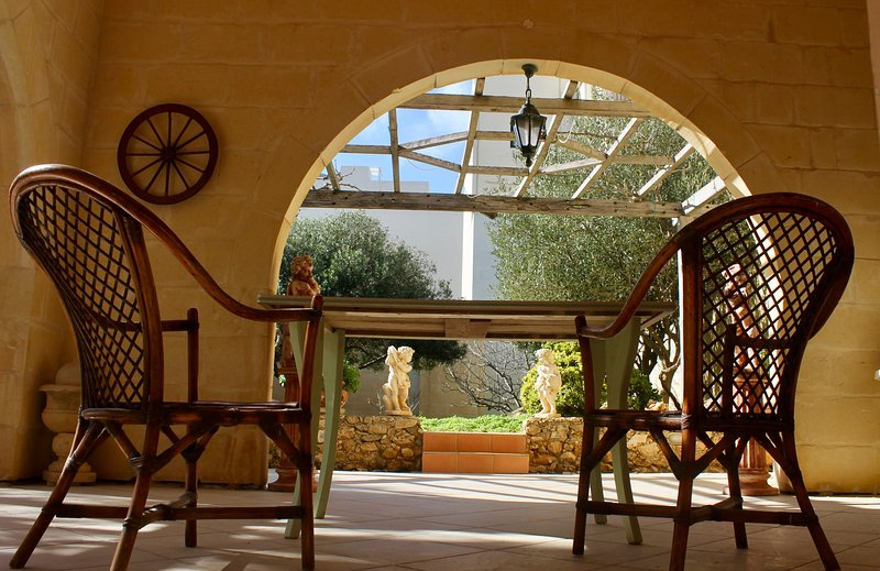 Ta Oneira's garden is a paradise in Gozo.