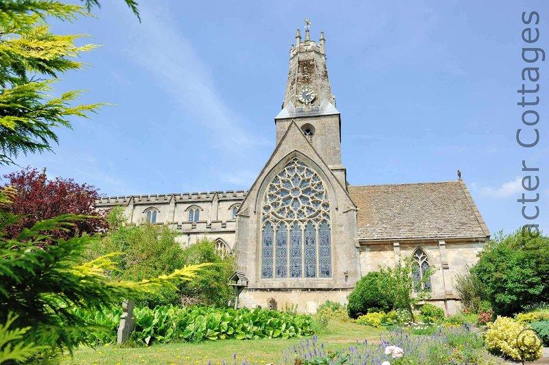 Minchinhampton's beautiful Holy Trinity Church