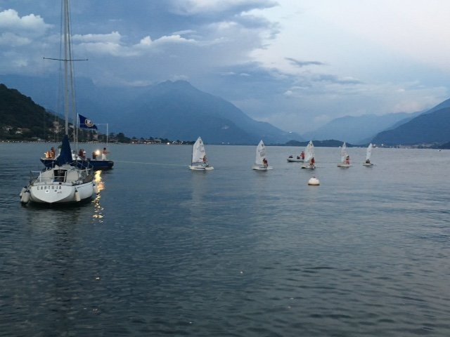 Competition boats Allegorical Boat festival ~ ~ August Gravedona