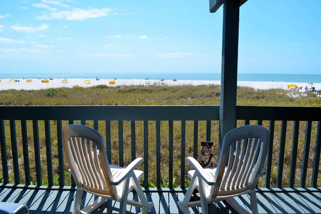Immaculate beach view, Treasure Island FL.