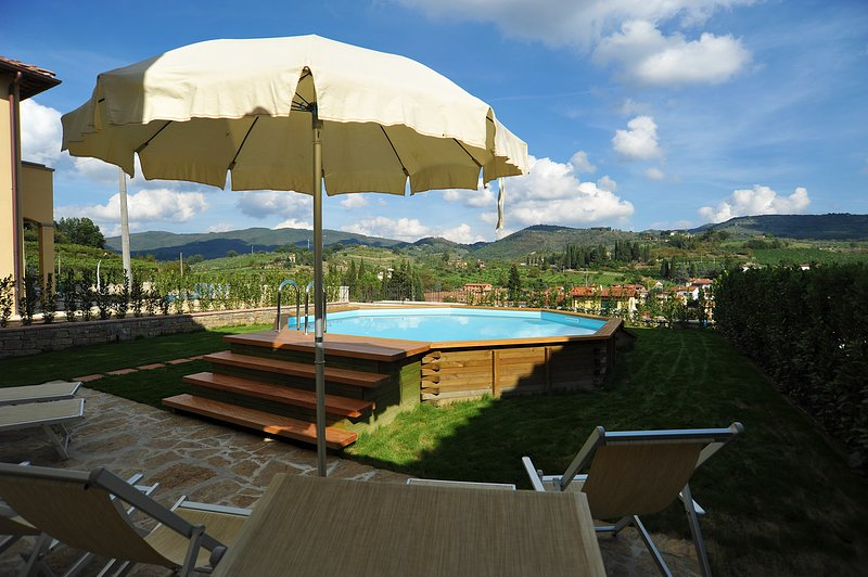 Three bedrooms villa with a private pool at walking distance from all facilities of Greve in Chianti