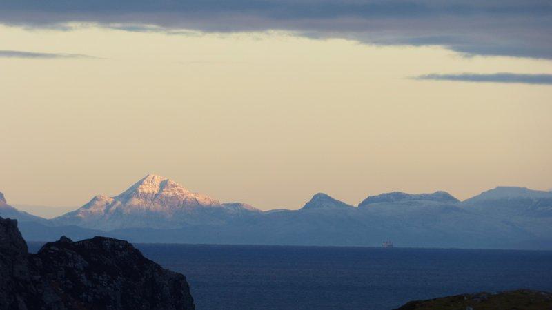 Le montagne di Skye in una giornata limpida