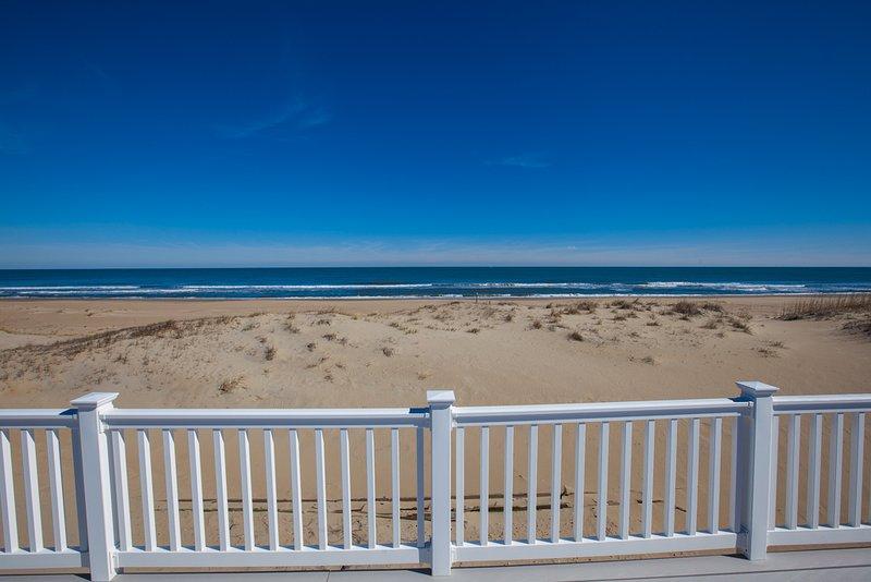 Railing,Beach,Coast,Outdoors,Sea