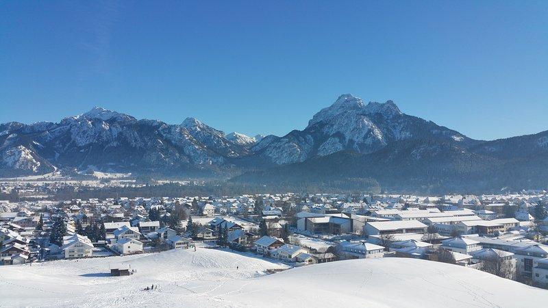 Königswinkel Füssen im Allgäu im Winter CR da Alexander Hosp