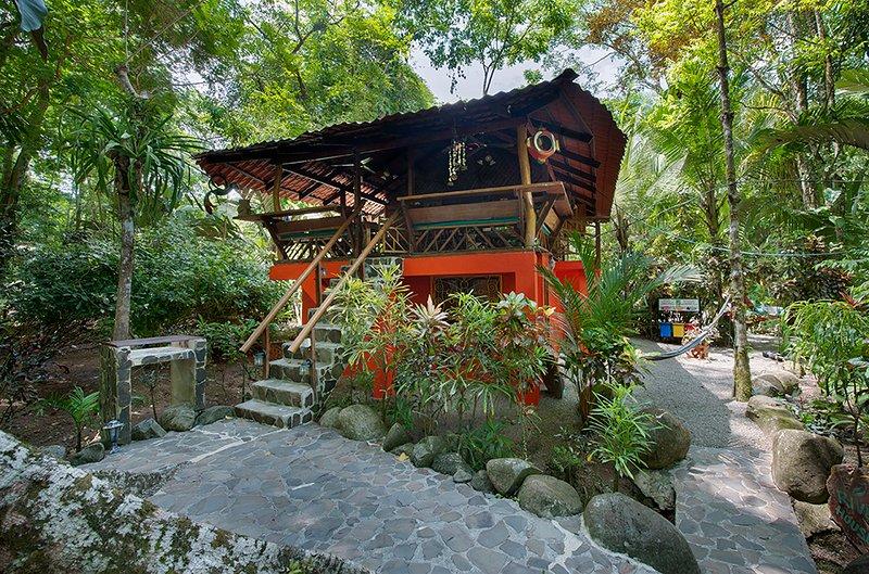 The River Dream House of Congo Bongo EcoVillage Costa Rica., holiday rental in Manzanillo
