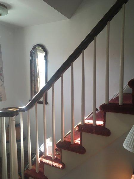 Conduce fino alle scale camera da letto