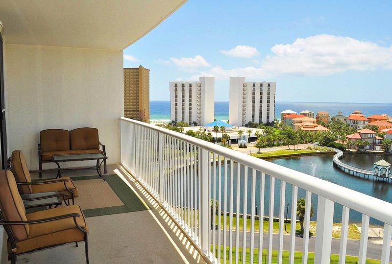 Balcony -  The Terrace at Pelican Beach Resort Destin Florida Vacation Rentals