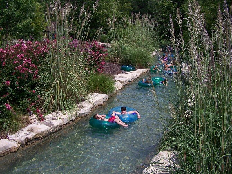 Schwimmen auf dem Lazy River