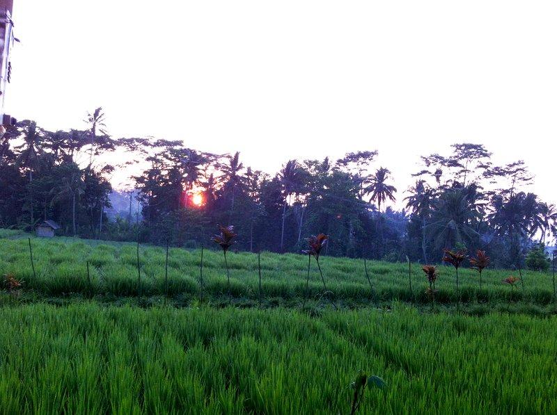 Sunrise at Villa Neyang Bali