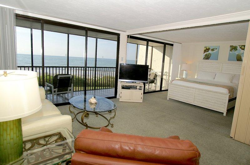 Living Room Overall -  Sanibel Island Sundial Resort A-206