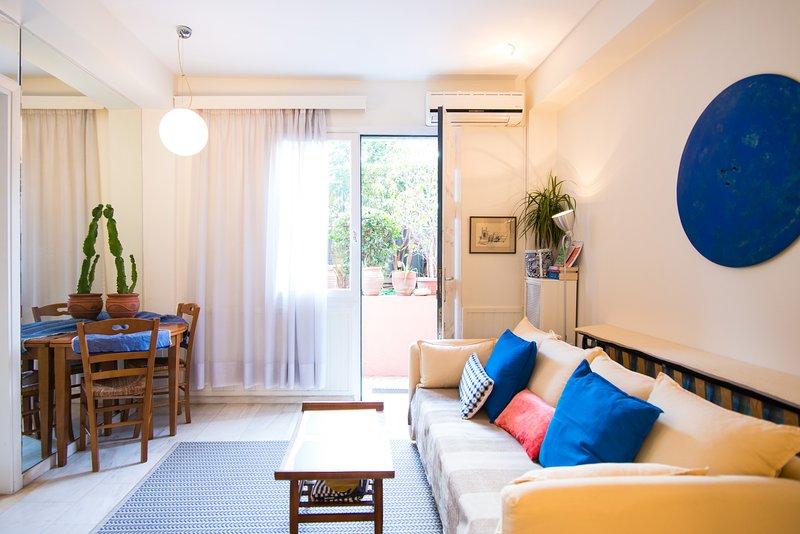 Athens Hilton area 5 min from metro, holiday rental in Kaisariani