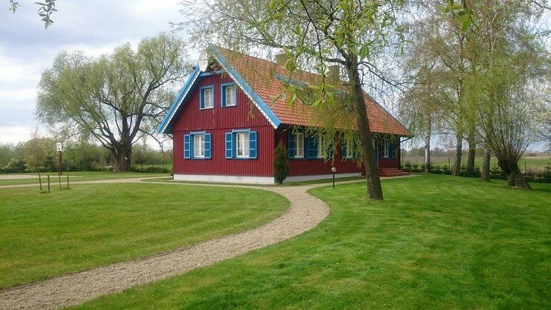 House in Minija village, holiday rental in Priekule